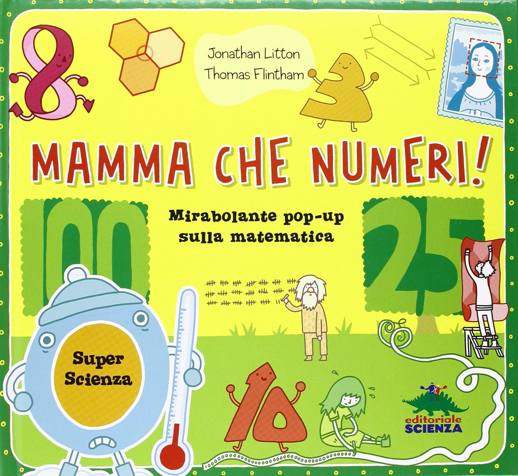 libro per bambini sulla matematica