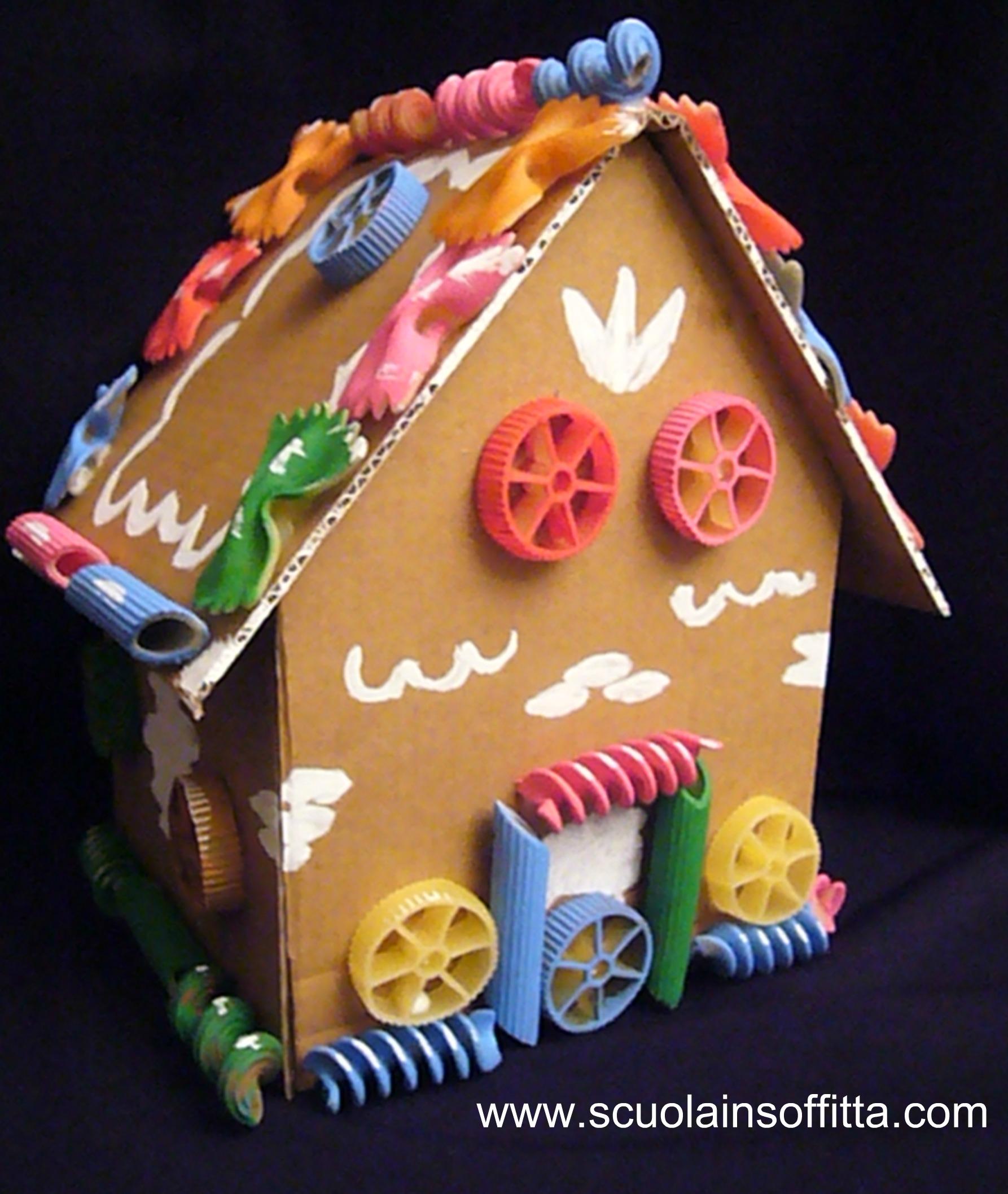 Costruire la casetta di hansel e gretel for Mutuo per la casa per costruire una casa