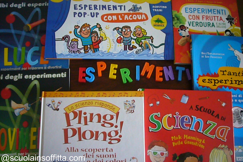 libri di esperimenti scientifici per bambini
