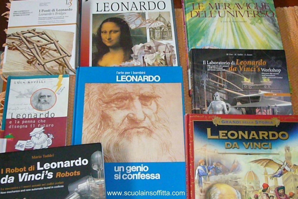 libri per bambini su Leonardo da Vinci