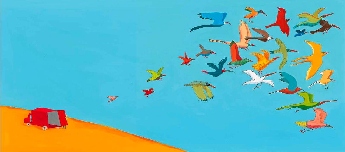 gli uccelli topipittori
