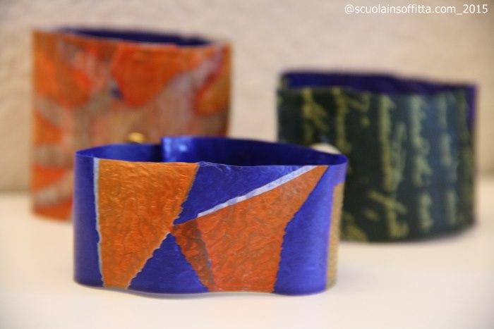 braccialetti di riciclo creativo fai da te