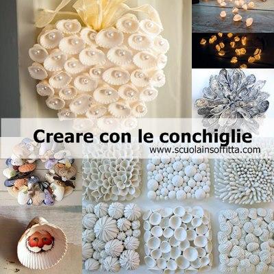 Creare con le conchiglie decorazioni per la casa for Creare oggetti per la casa