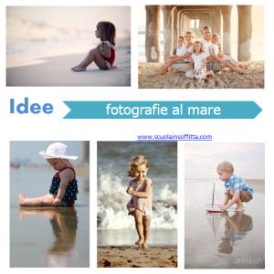 idee per fotografie al mare