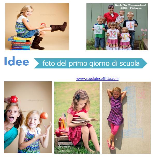 Idee per fotografie del primo giorno di scuola