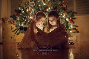 fotografare i bambini a Natale