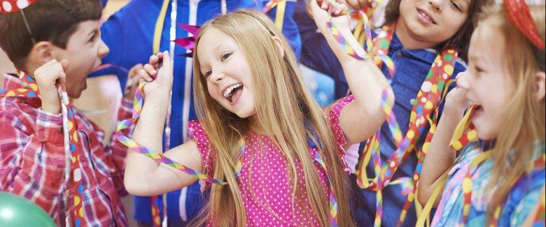 come intrattenere i bambini alle feste