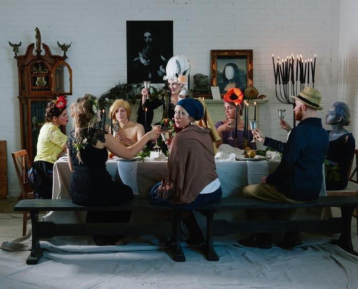 costumi di carnevale ispirati alle opere d'arte