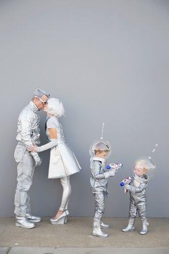 costume di carnevale per la famiglia