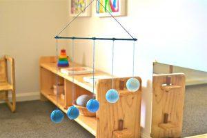 giostrina montessori giochi per neonati