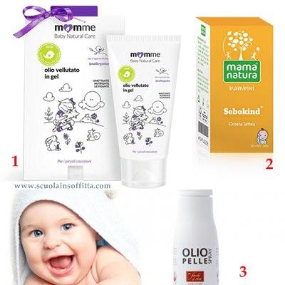 prodotti bagnetto neonato