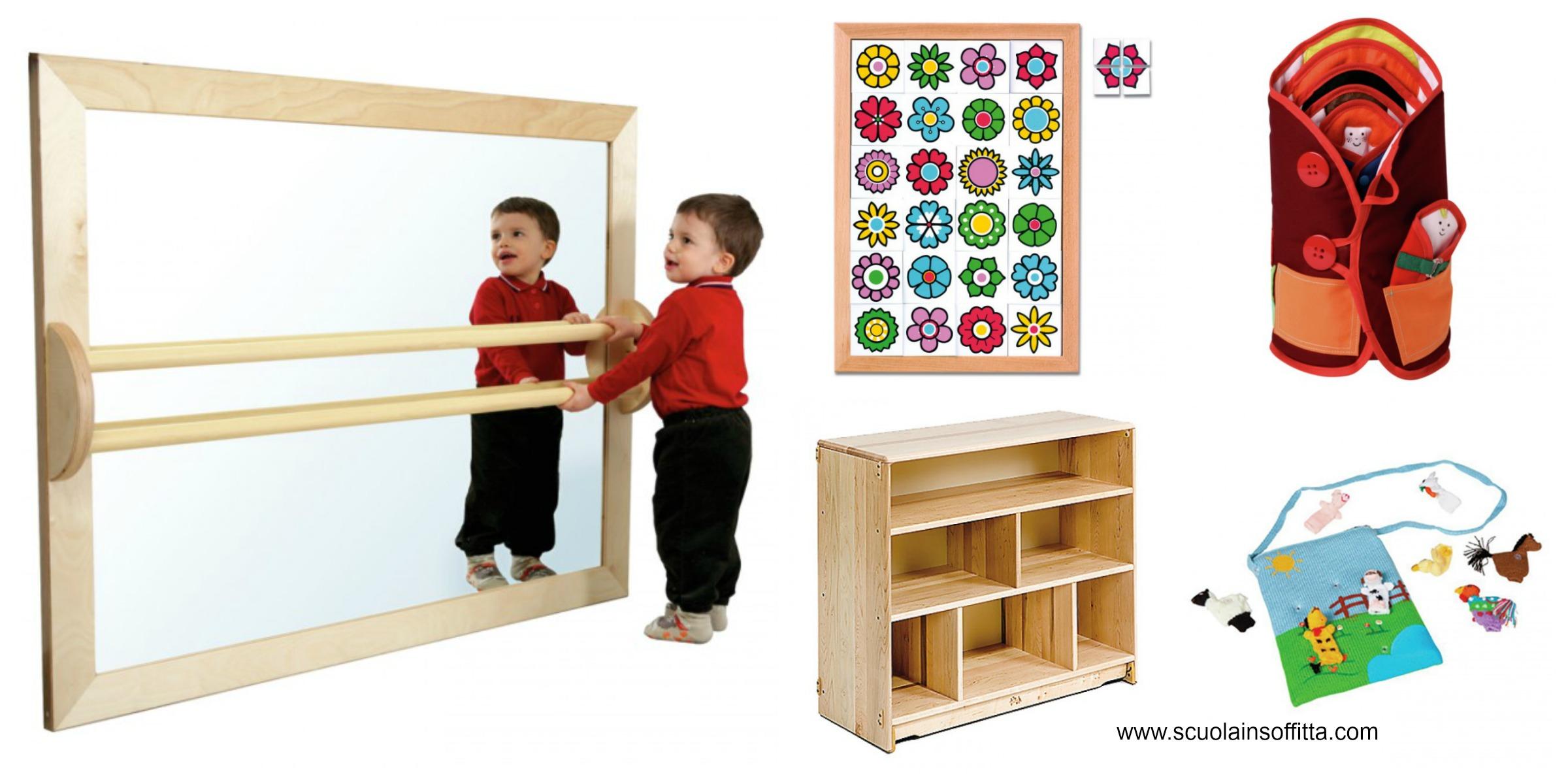 come allestire un angolo Montessori in soggiorno o in cameretta