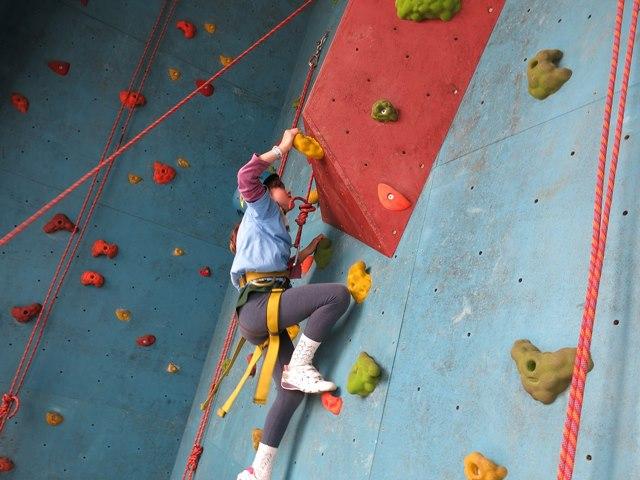 arrampicata sportiva per bambini
