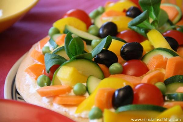 crostata di verdure