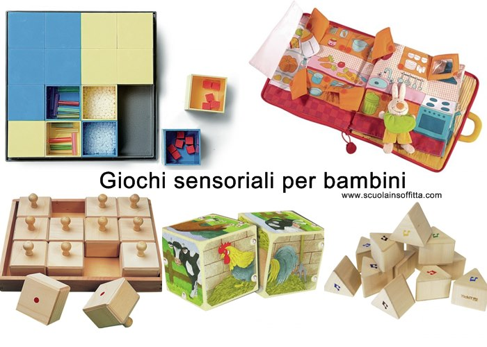 giochi sensoriali per bambini. Black Bedroom Furniture Sets. Home Design Ideas