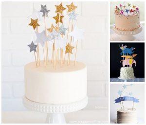 decorazioni torte di compleanno cake toppers