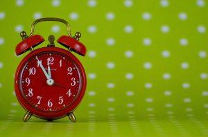 organizzare la giornata per guadagnare tempo