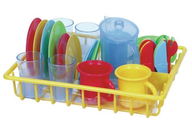 gioco simbolico piatti tazzine