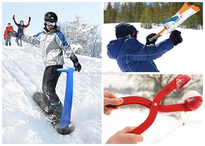 Giochi da neve per ragazzi