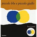 educazione sensoriale con i libri, piccolo blu e piccolo giallo