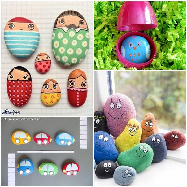 7 idee per decorare i sassi con i bambini for Idee per decorare