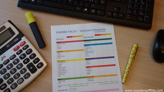 Kakebo fai da te libro dei conti per risparmiare in pdf - Porta a libro fai da te ...
