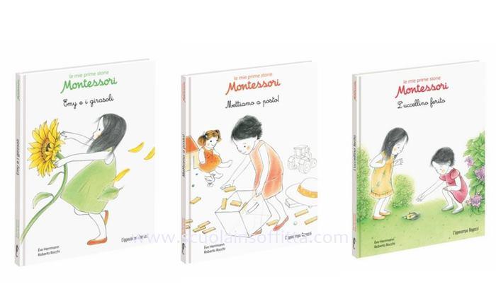 Le mie prime storie montessori di l 39 ippocampo - Porta libri montessori ...