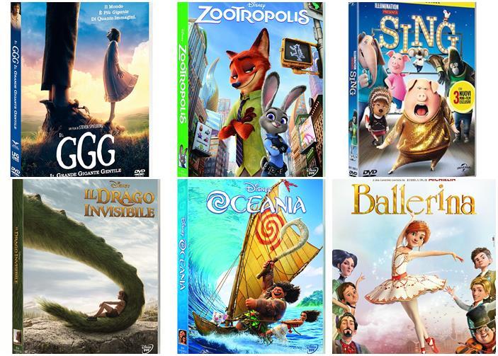 I film per ragazzi più belli del ora in dvd