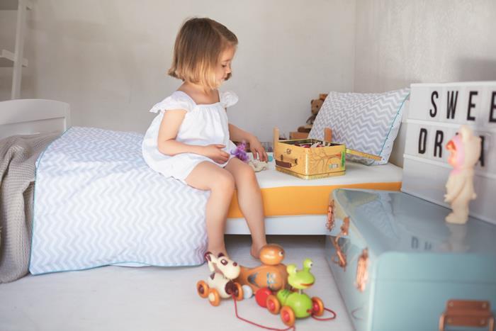 materasso per bambini eve