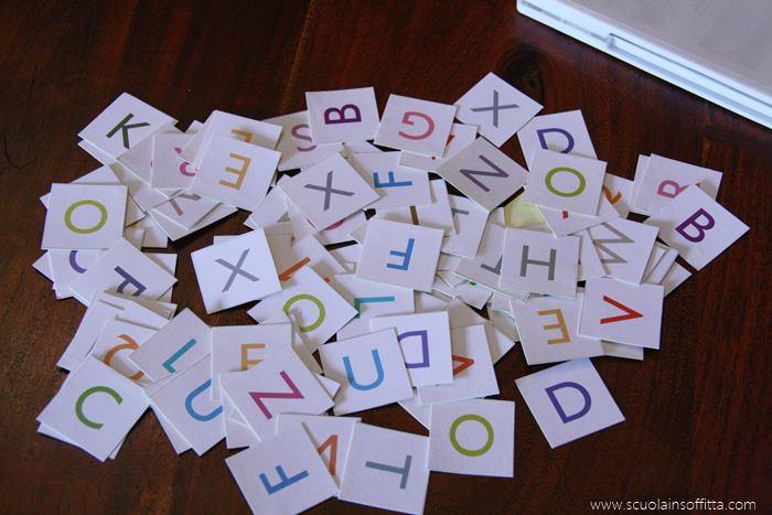 giochi con le lettere