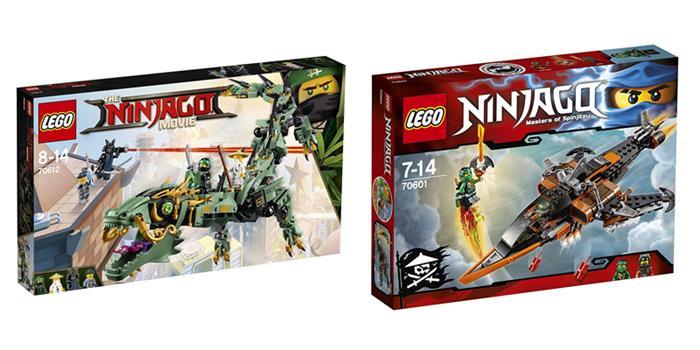 giochi lego ninjago costruzioni