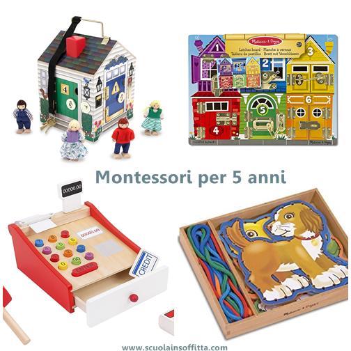 Montessori per 5 anni