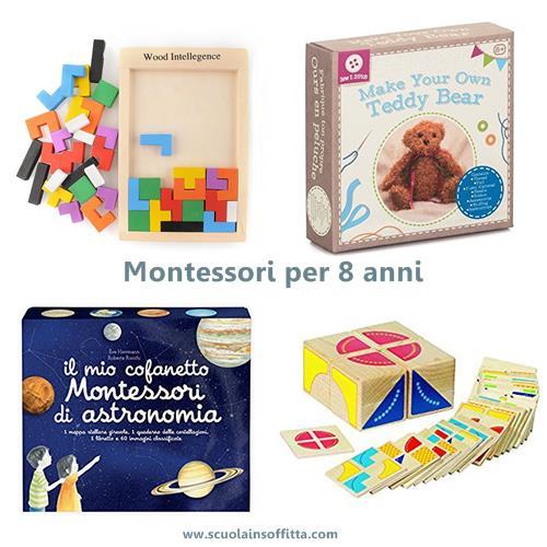 Montessori per 8 anni