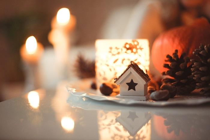 come creare atmosfera natalizia in casa