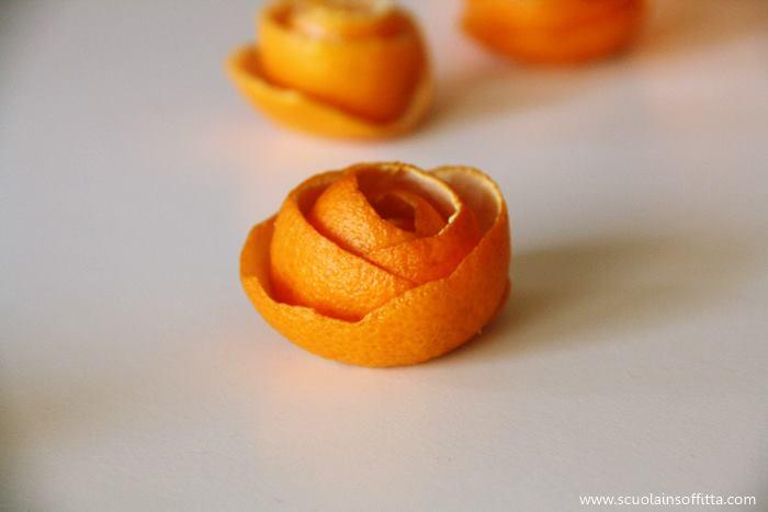 decorazioni arance mandarini