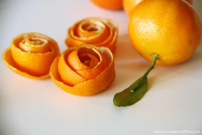 decorazioni natale con bucce di mandarini