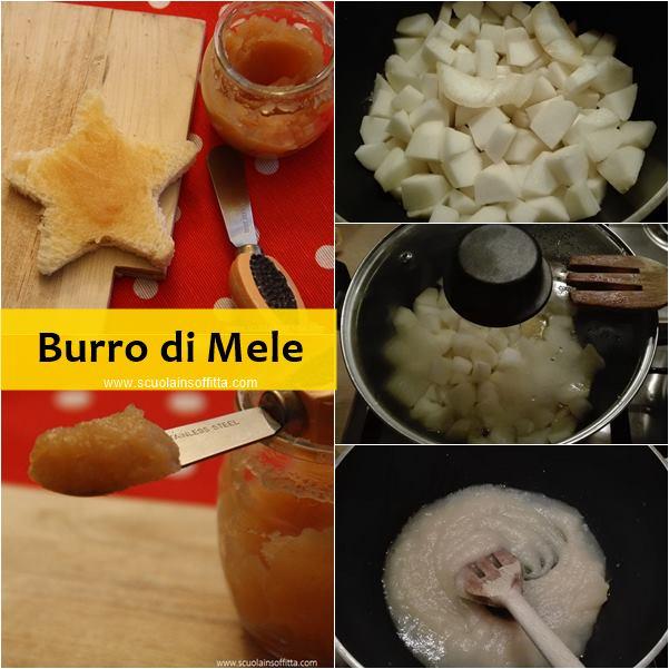 burro di mele ricetta