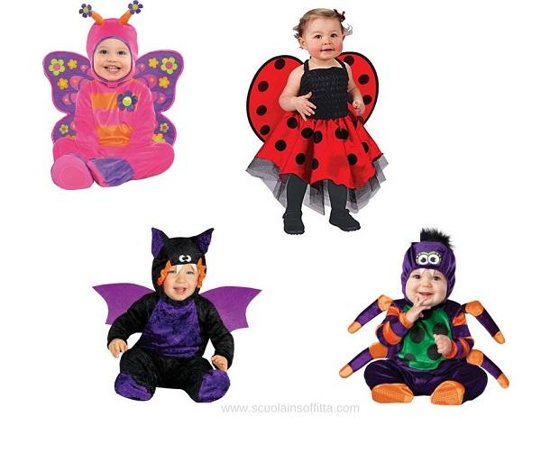 costumi di carnevale per bambini piccoli