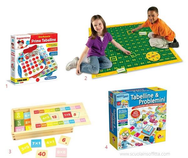 giochi con le tabelline