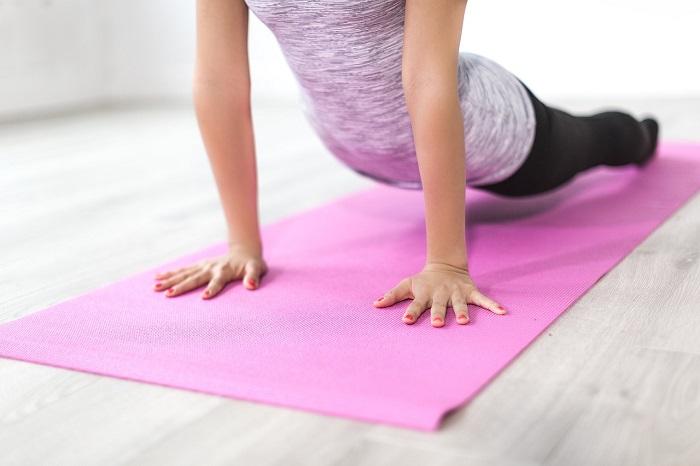 come perdere peso con la palla yoga
