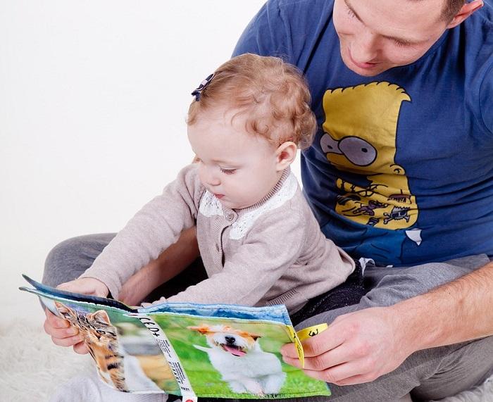 Libri per bambini sul papà