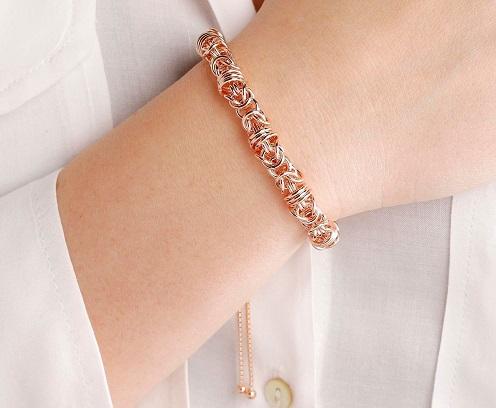 bracciale dell'amicizia con catena