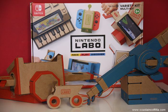 Nintendo Labo Variety Kit recensione
