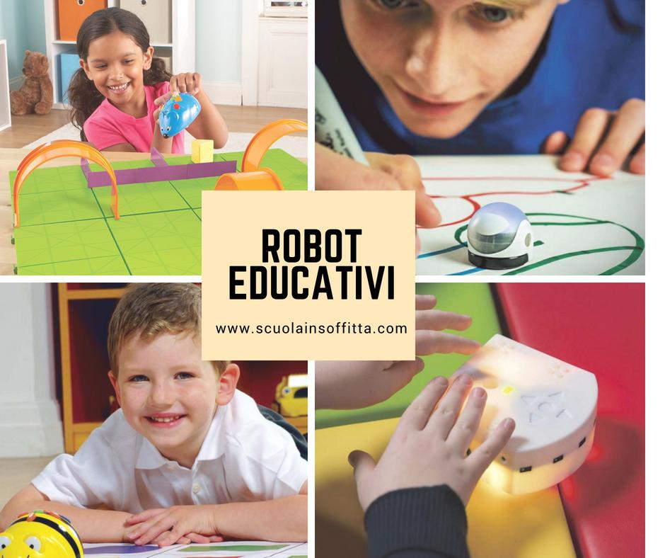 Robot educativi per bambini e ragazzi