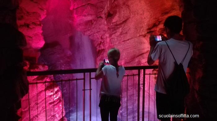 cascata del varone trentino riva del garda mete per bambini