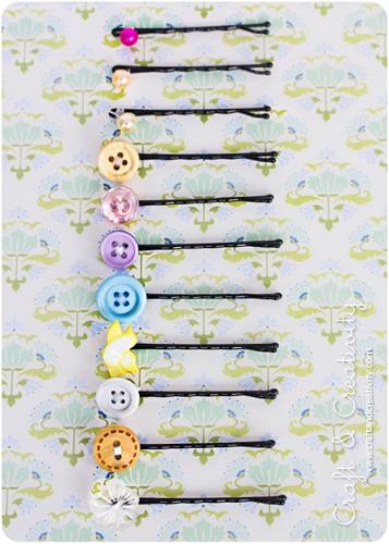 idea riciclo bottoni