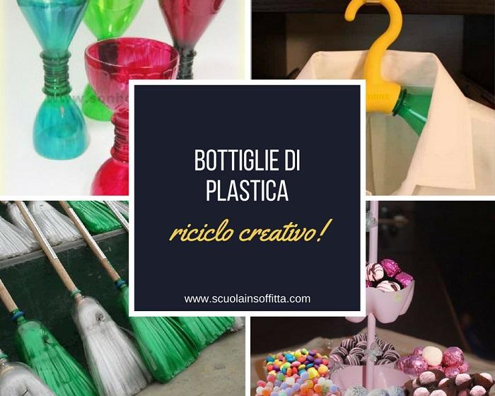 Idee creative per riciclare le bottiglie in plastica