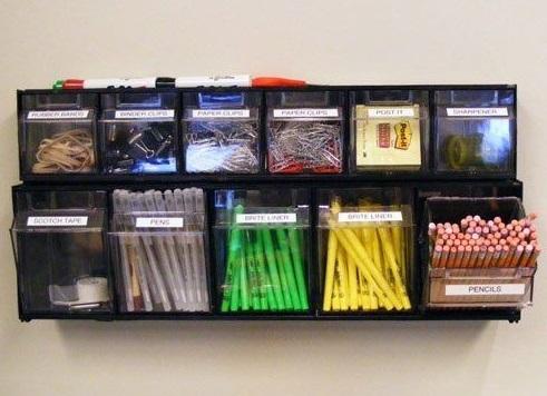come organizzare il materiale scolastico