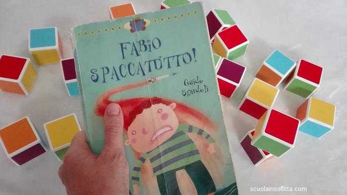 Libro per bambini sulla rabbia: Fabio spaccatutto