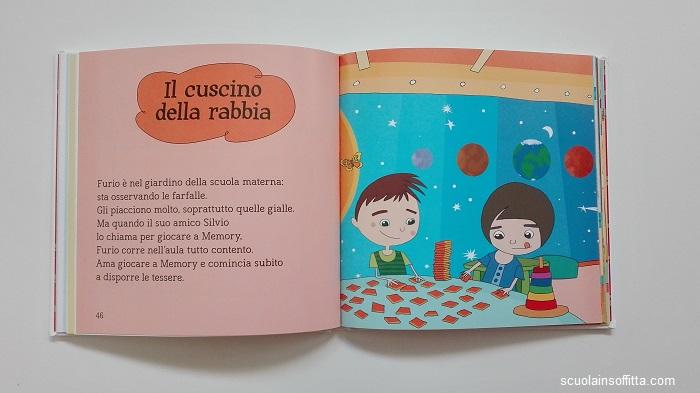 Le sei storie della rabbia libro per bambini Gribaudo
